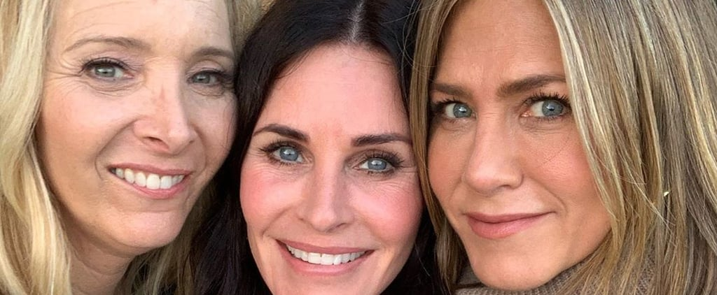 Courteney Cox Birthday With Jennifer Aniston and Lisa Kudrow