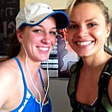 "Oh no big deal, these two just finished a ""casual 10-mile run!"" Source: Instagram user ambitiouskitchen"