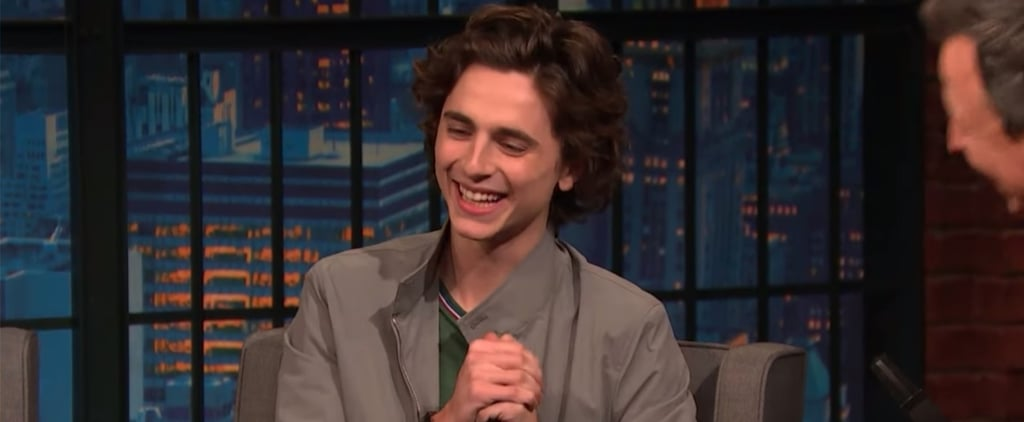 Timothée Chalamet Was Starstruck Meeting Emma Watson
