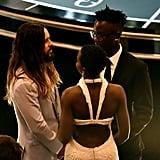 Jared Leto, Lupita Nyong'o, and Peter Nyong'o Jr.