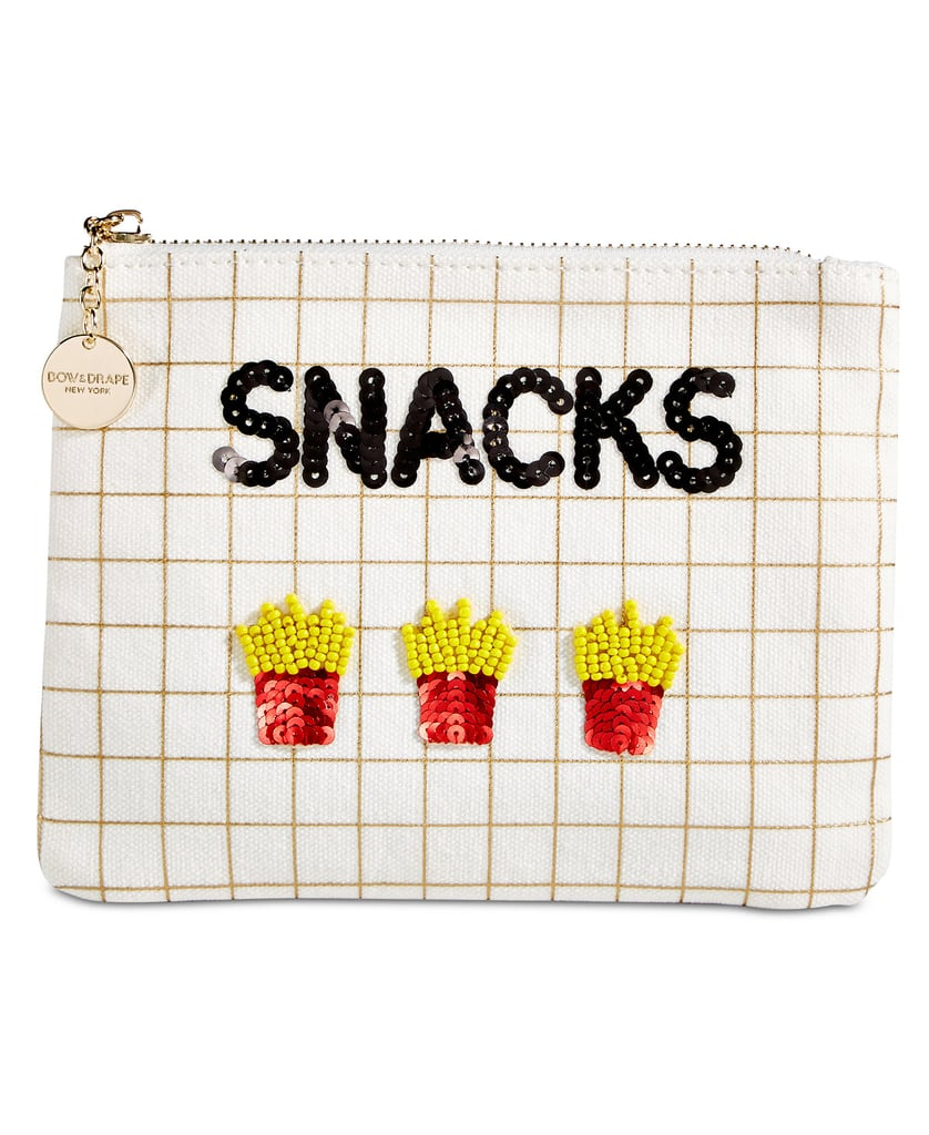 Bow & Drape Snacks Pouch