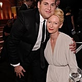 Jonah Hill and Tilda Swinton