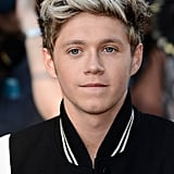 Niall Horan posed for photos.