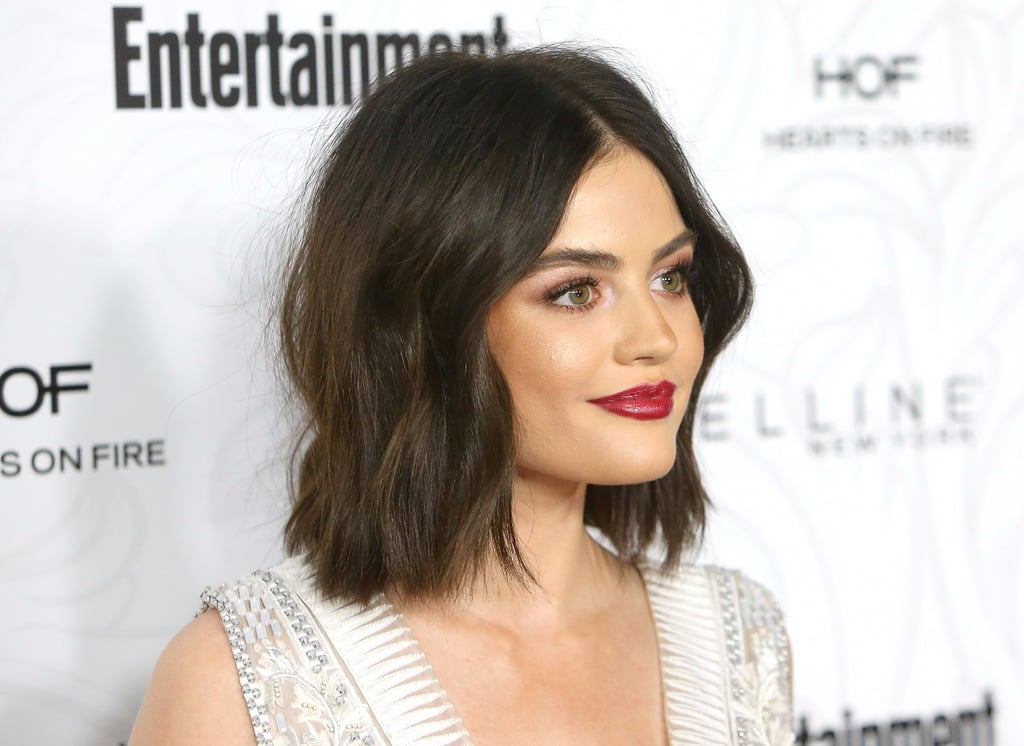 wavy long bob hair inspiration popsugar beauty uk