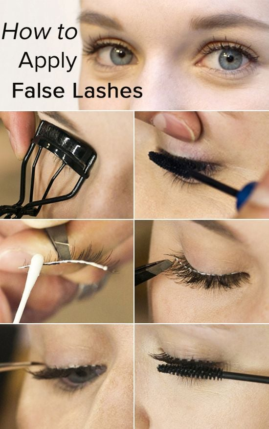 Looks like our readers are brushing up on their lash-applying skills before Halloween. No costume is complete without a few falsies, after all.  Photos by Caroline Voagen Nelson