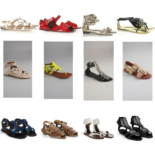 Summer Sandals Hit Shelves