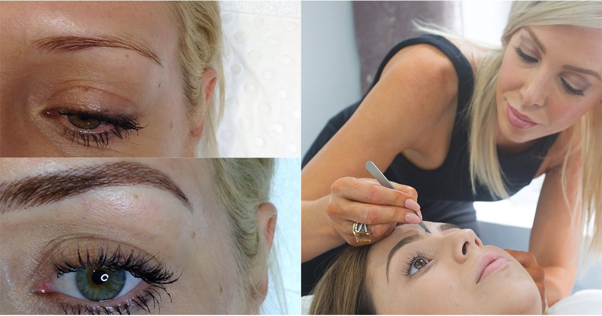 Things To Know About Feather Touch Eyebrow Tattoos Popsugar Beauty