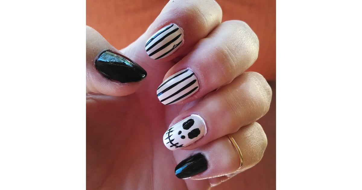The Nightmare Before Christmas | Horror Movie Nail Art Inspiration ...