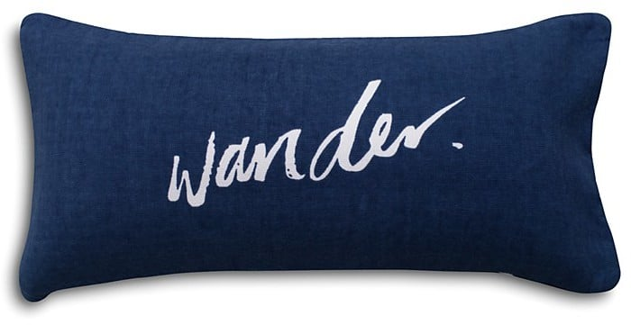 the beach people wander beach pillow beach pillows popsugar smart living photo 2