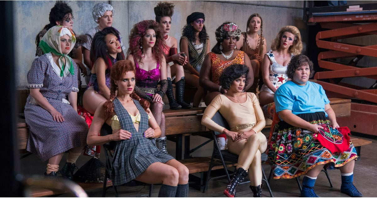 Glow Tv Show Cast Popsugar Entertainment