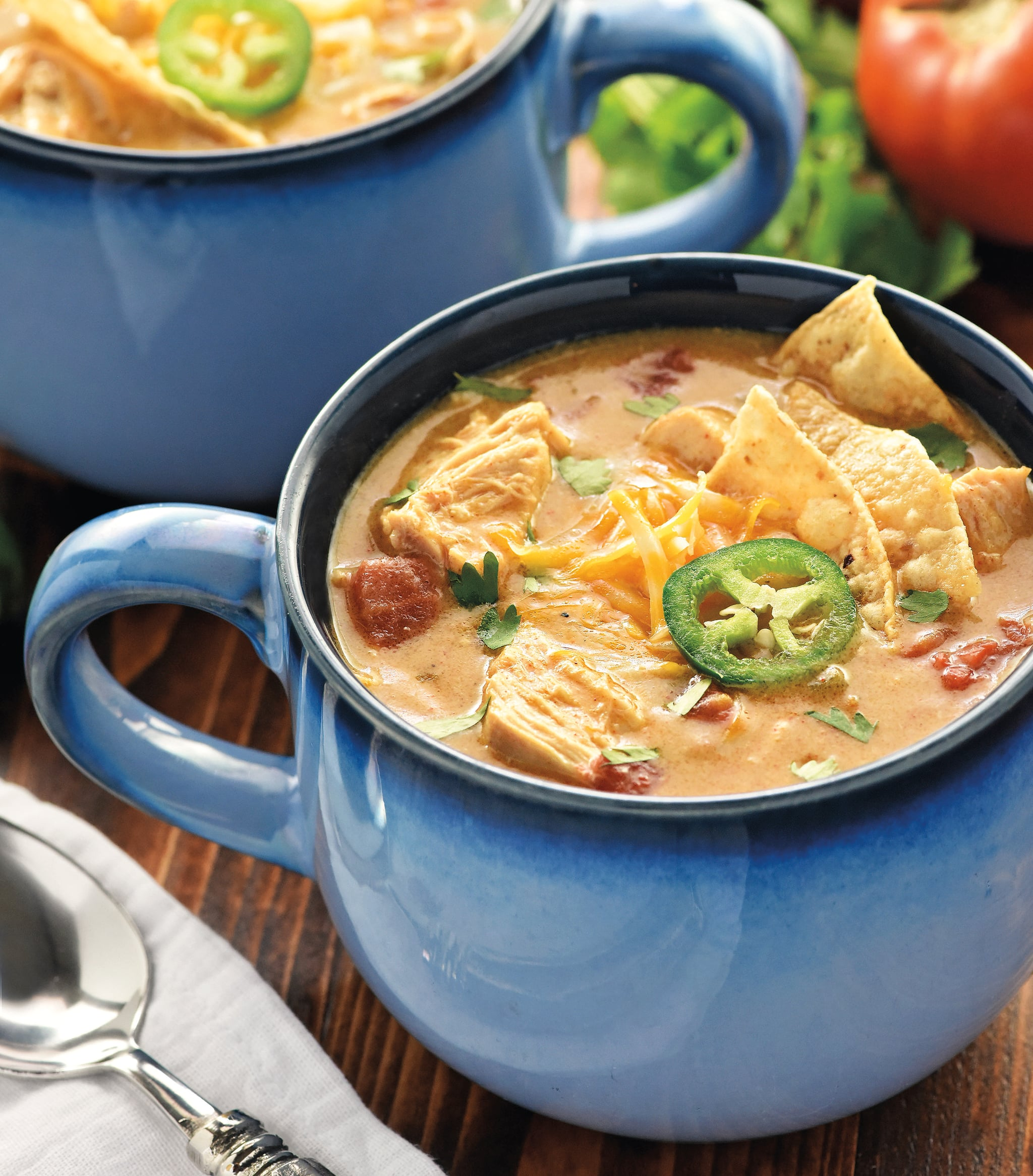 Slow cooker king ranch chicken soup recipe popsugar food forumfinder Choice Image