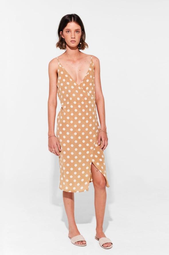 Sir the Label Eddie Wrap Midi Dress ($340)