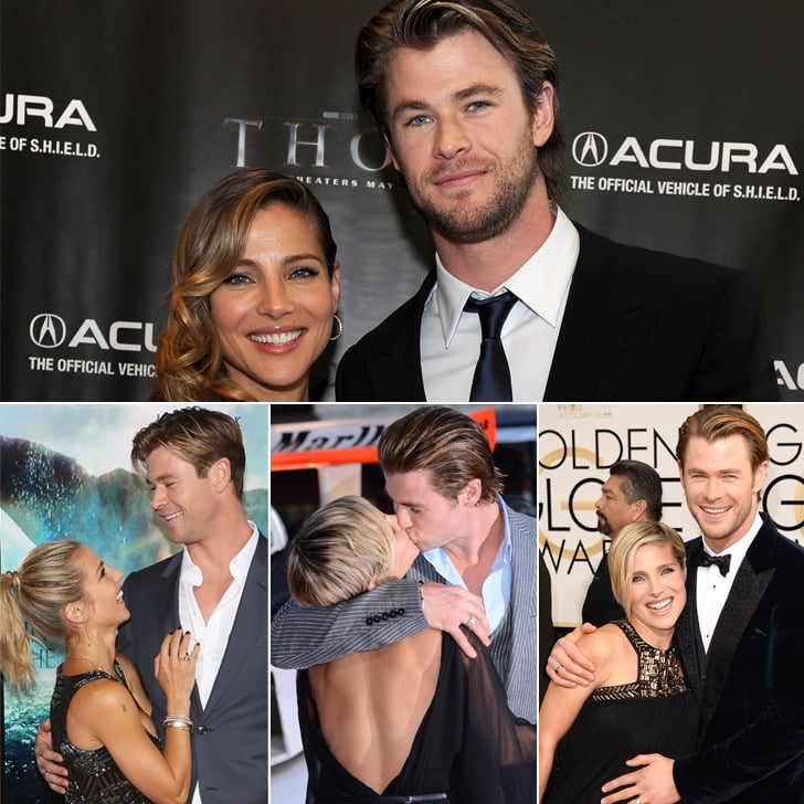 Chris Hemsworth and Elsa Pataky Most Definitely Have the Look of Love Down