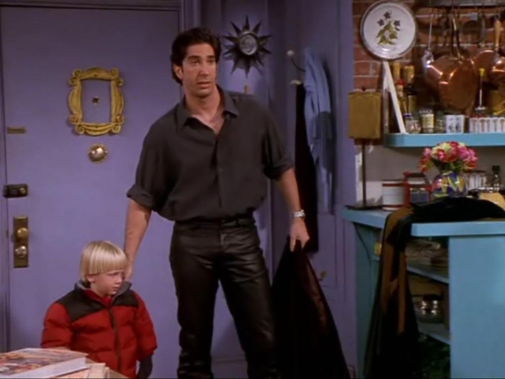 That Time Ross Wore Leather Pants on Friends