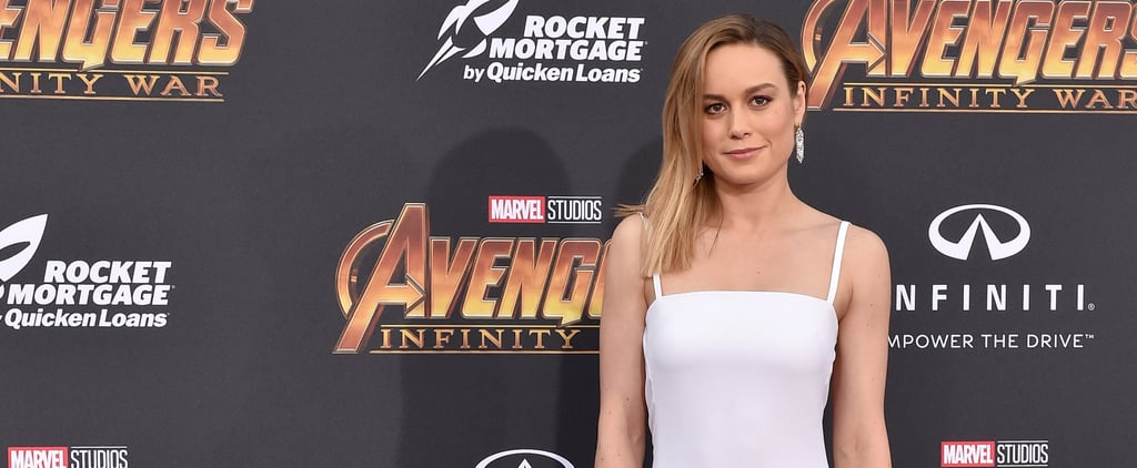 Brie Larson Resistance Band Pull Apart