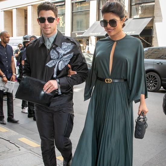 Priyanka Chopra and Nick Jonas at Dior Show 2019