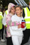 Justin Bieber Serenaded Hailey Baldwin in a Trippy Tie-Dye Sweatshirt -Cue the Awws