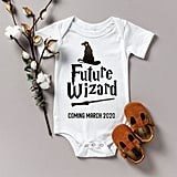 Harry Potter Baby Announcement Onesie