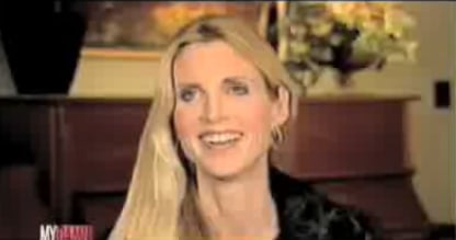 Ann Coulter Contemplates Snorting Nicorette