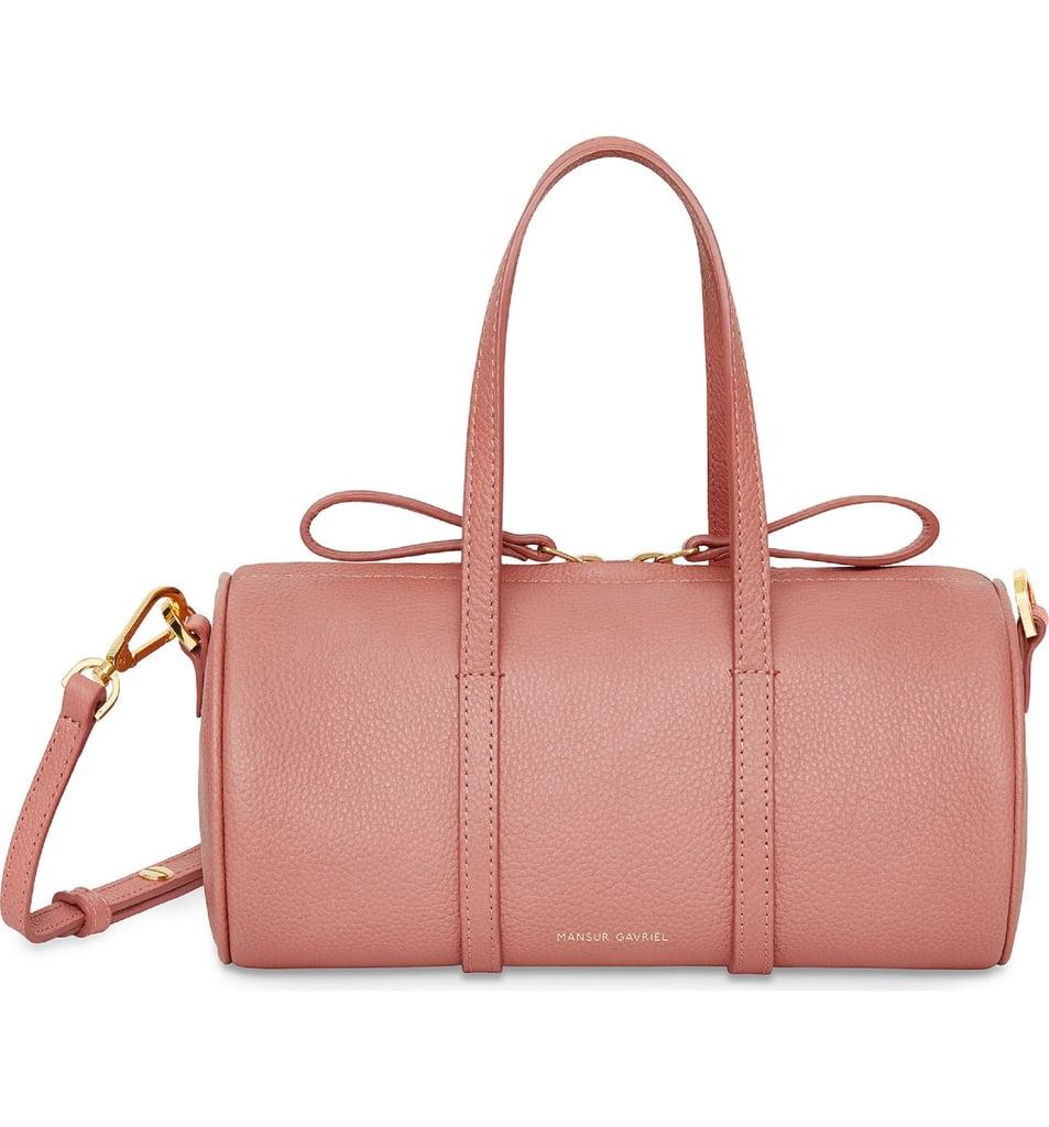 Mansur Gavriel Mini Leather Duffel Bag