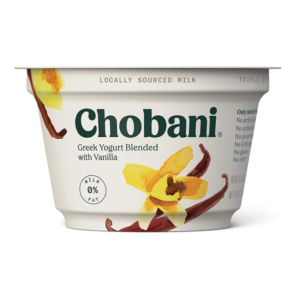 Chobani Non-Fat Vanilla Greek Yogurt
