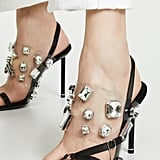 Alexander Wang Crystal Kaia Sandals