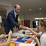 Prince William Dancing Pictures Sept. 2016