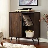One Door Wood TV Stand
