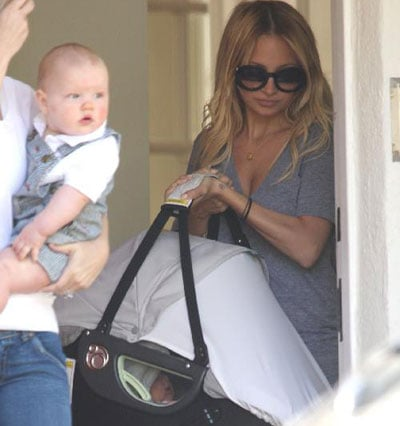 Nicole Richie and Harlow Madden Out in LA 2008-03-29 10:04:32
