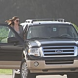 Jennifer Garner arrived in Puerto Rico.