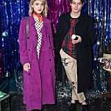 Natalia Dyer and Charlie Heaton at Burberry Party