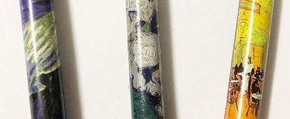 Looks Like Storybook Cosmetics Will Launch van Gogh Makeup Brushes!