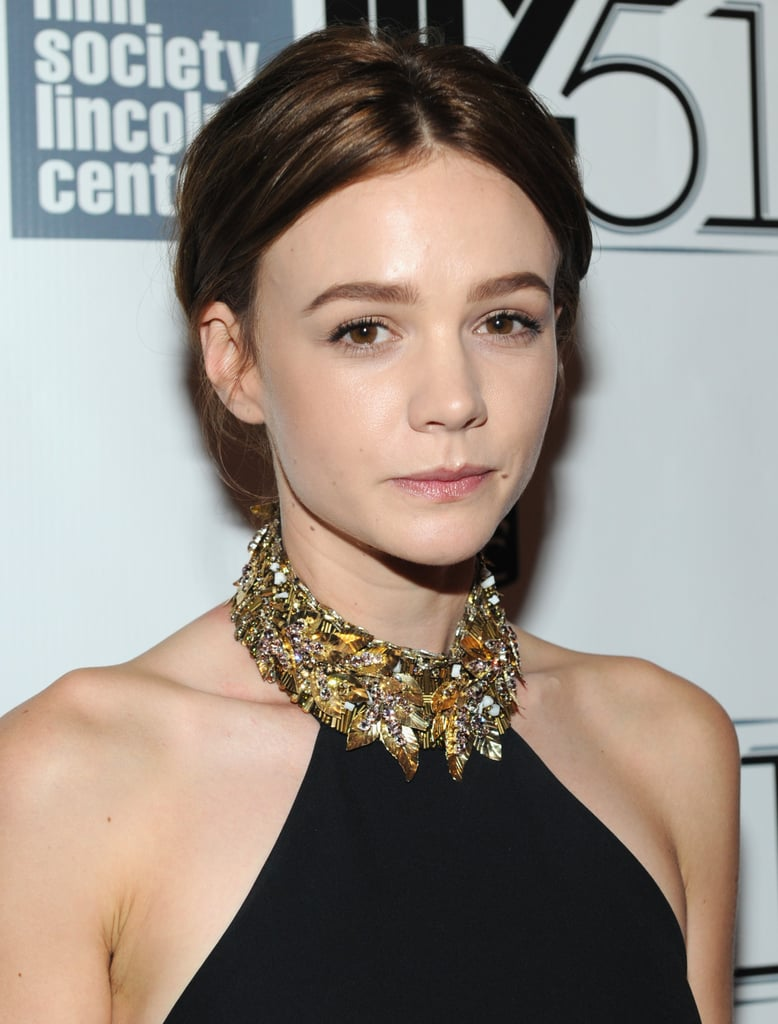 carey mulligan dyes her hair brown 2013 pictures