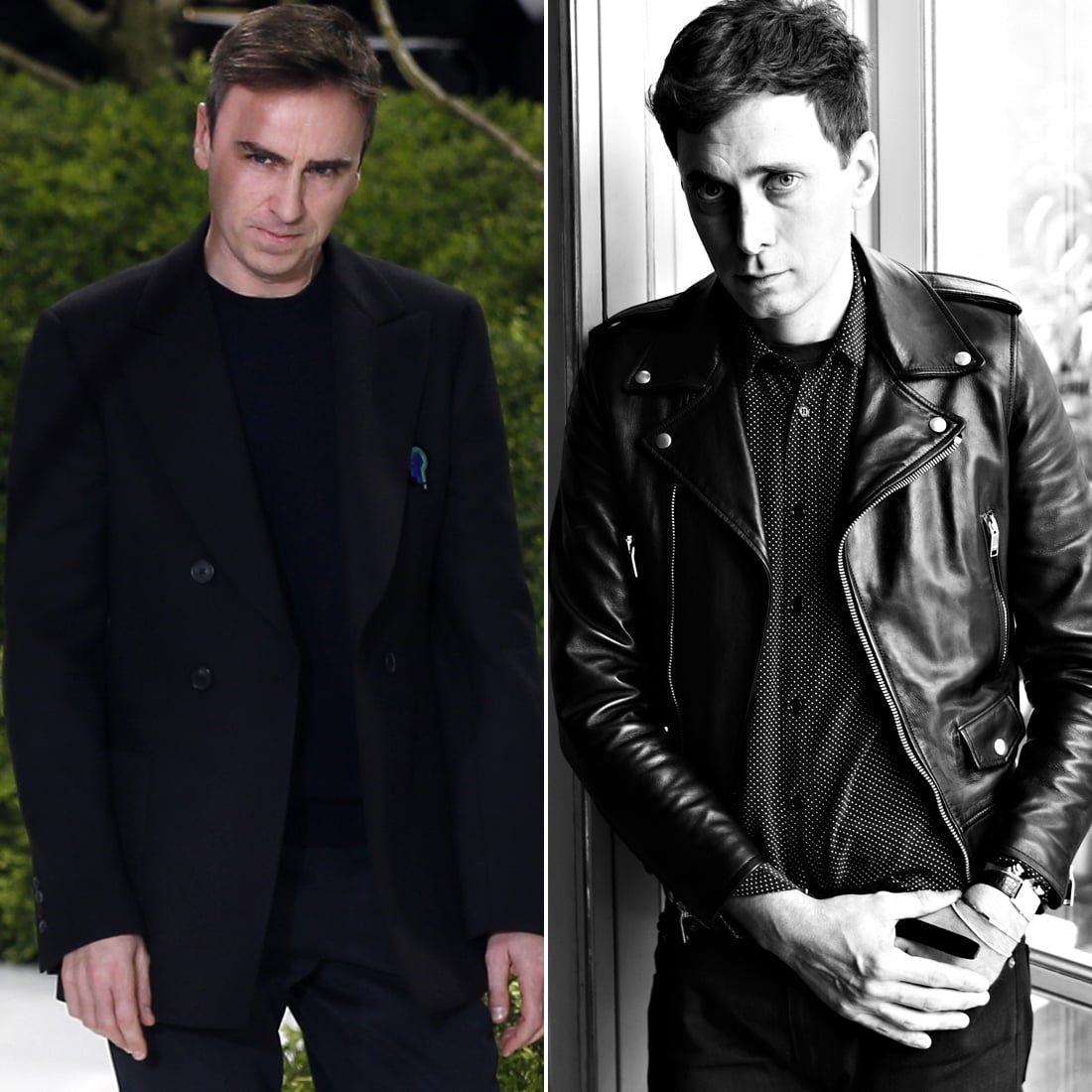 Raf Simons's and Hedi Slimane's Second Shows