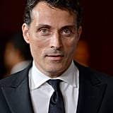 Rufus Sewell attended the event in a suit and tie.