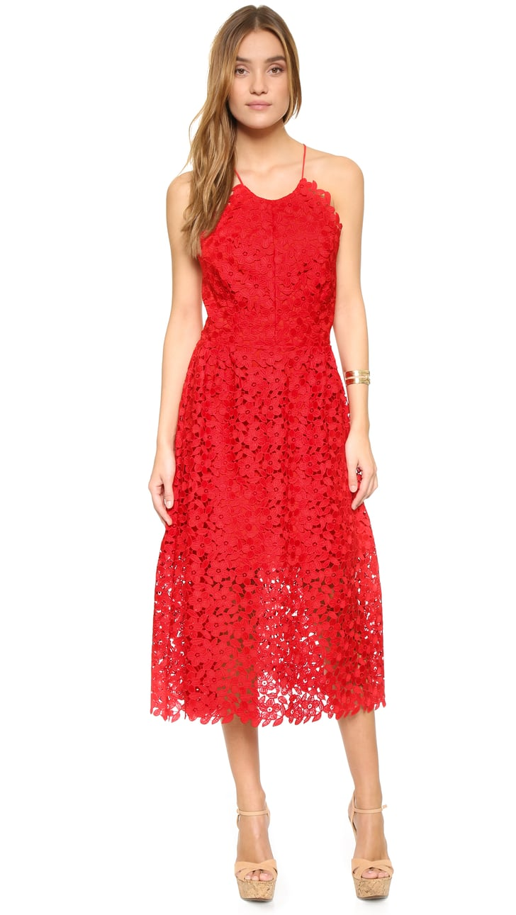 cynthia rowley lace back dress 495 best wedding guest dresses for spring and summer. Black Bedroom Furniture Sets. Home Design Ideas