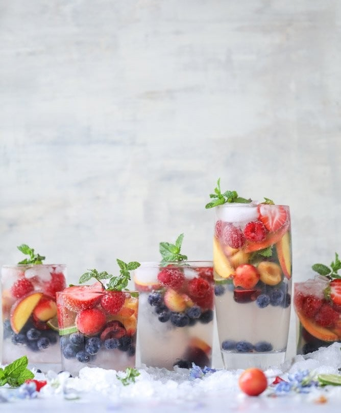 Healthy Cocktails and Mocktails