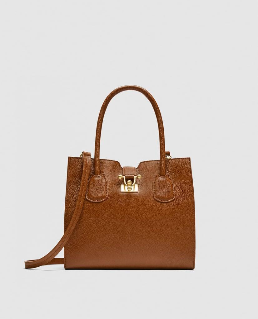 Zara Leather Mini City Bag