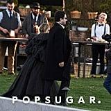 Ashley Olsen and Louis Eisner at Jennifer Lawrence's Wedding