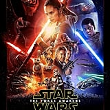 She Steals the Show on the Star Wars: The Force Awakens Official Poster