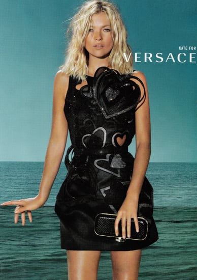 Gisele Bundchen, Kate Moss Versace's Spring 2009 Queens of Hearts