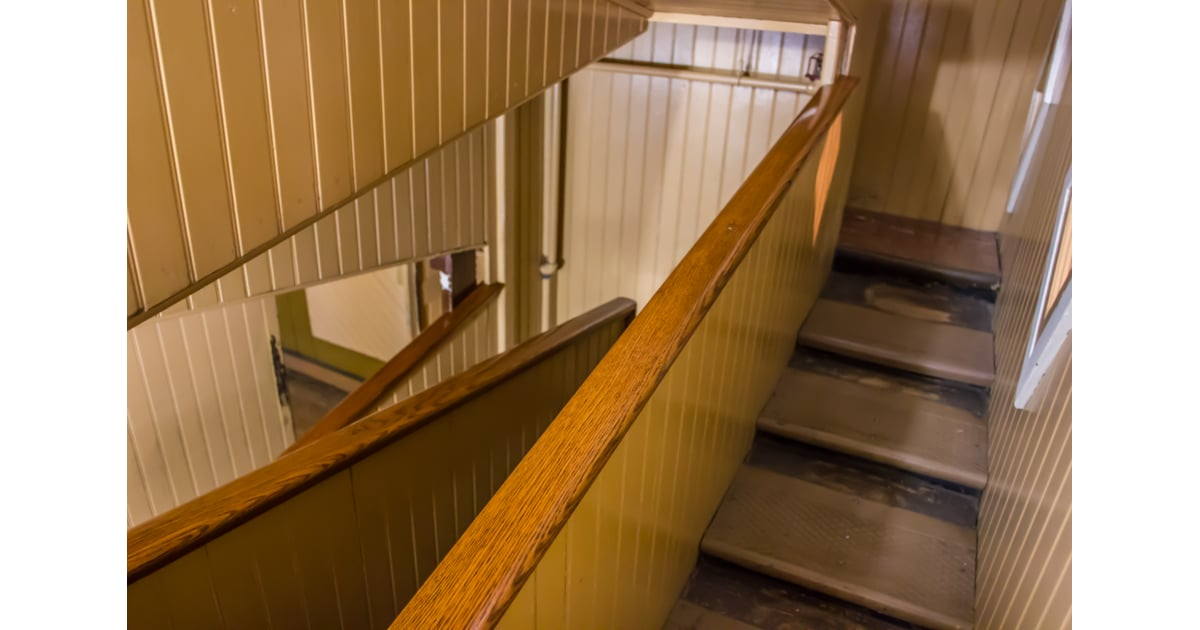 Switchback Staircase What Is The Winchester Mystery