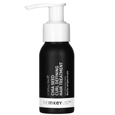 The same stuff you sprinkle in your smoothie is also loaded with omega-3 fatty acids, which is why you'll want to use The Inkey List Chia Seed Curl-Defining Hair Treatment ($8) whenever your coils need a little extra hydration.