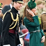 The Royal Family Handles St. Patrick's Day With Grace and Lots of Green