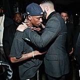 Pictured: Travis Scott and Drake