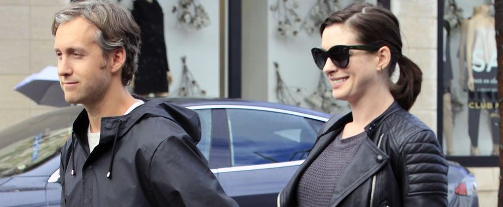 Anne Hathaway Sports a Gorgeous Pregnancy Glow Ahead of Award Season