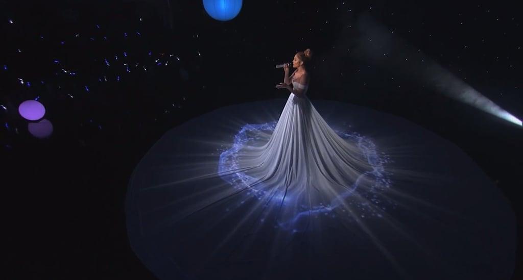 Jennifer Lopez's White Ball Gown on American Idol