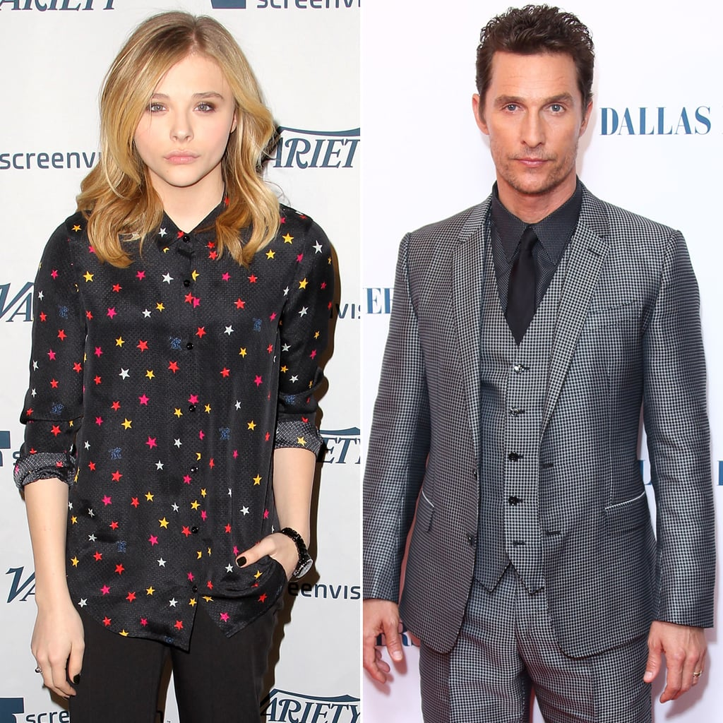 Chloë Grace Moretz and Matthew McConaughey