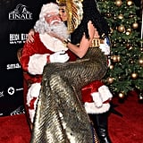 Heidi Klum Costume Holiday Party 2012 Pictures