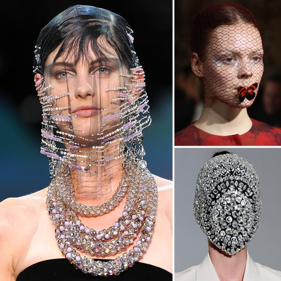 Masks and Veils Beauty Trends Couture Fall 2012 Fashion Week